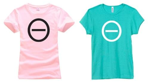 Women's MOTIVE Icon T-shirt (pink & teal)