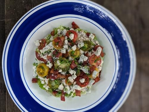SPECIAL MENU OCTOBER 2ND- Not-So-Classic Wedge Salad