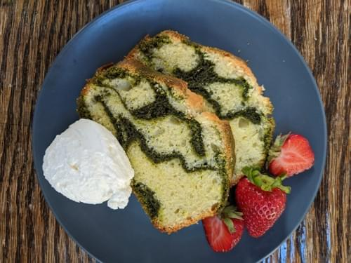 SPECIAL MENU SEPTEMBER 25th- Celebration Matcha Poundcake
