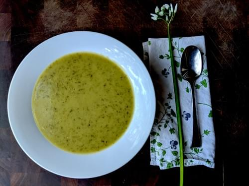 Leek and Potato Vichyssoise (Vegan)- 1 quart