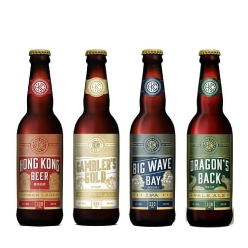 24 x 330mL Bottles - Hong Kong Beer Mixed Case