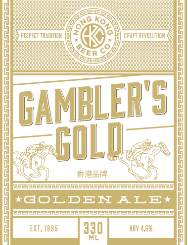 24 x 330mL Bottles - Gambler's Gold Golden Ale