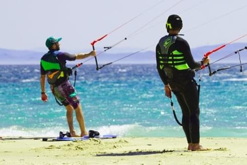 Kite coaching - 1,5 uur (met eigen materiaal)