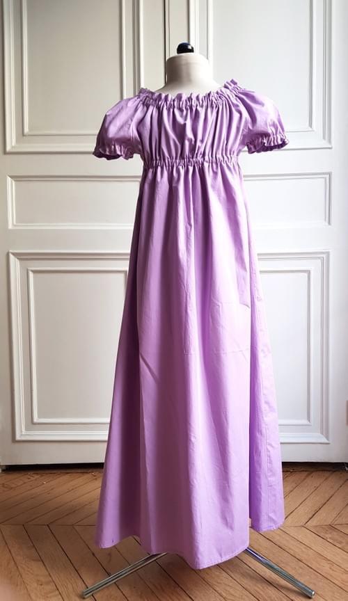 Robe Juliette en coton