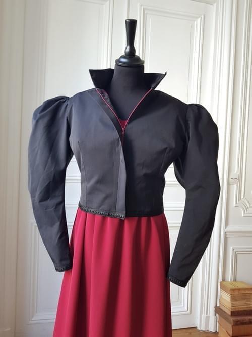 Veste Cléo noire - Taille 40