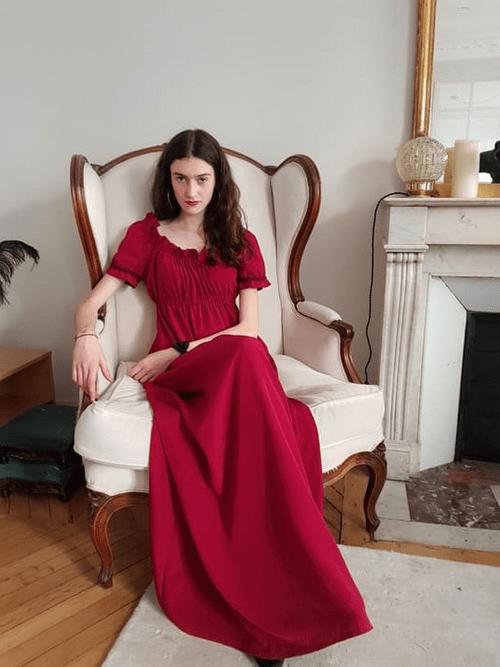 La robe longue Juliette - en stock