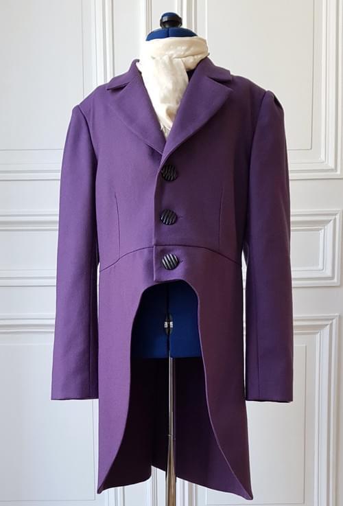 Veste Alfred violette - Taille 10/12 ans
