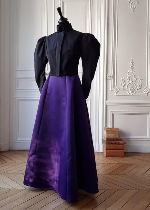 Jupe Cléo violette - taille 40