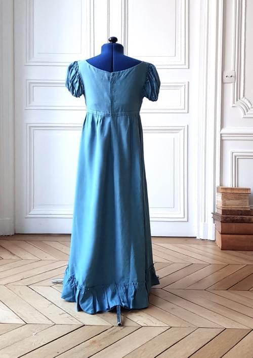 Robe Juliette indigo - taille 9/10 ans