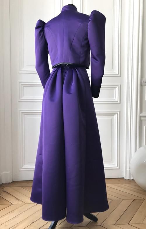 Ensemble Cléo violet - taille 12/14 ans