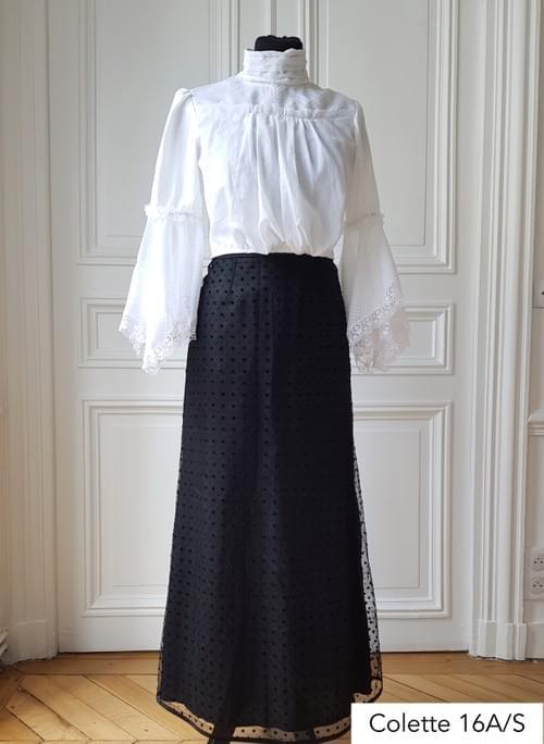 Ensemble Colette  noir et blanc - taille 36