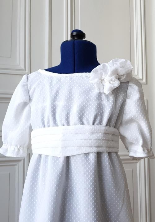 Robe Juliette blanche - 8 ans