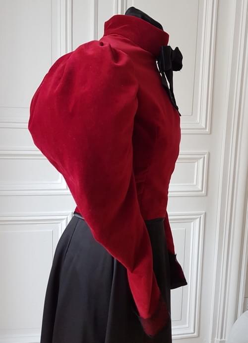 Veste Cléo carmin - taille 36/38