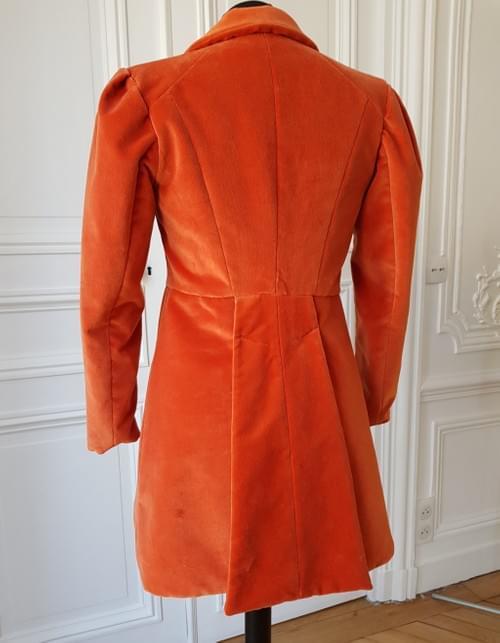 Veste Alfred orange - taille 9/11 ans