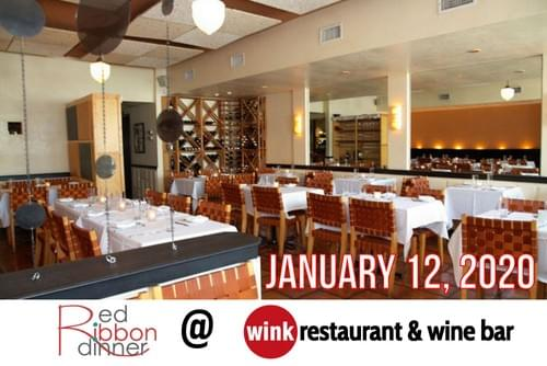 Red Ribbon Dinner at Wink