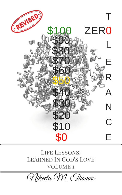 Zero Tolerance: Life Lesson's Learned in God's Love, Volume 1 E-BOOK (457 pages)