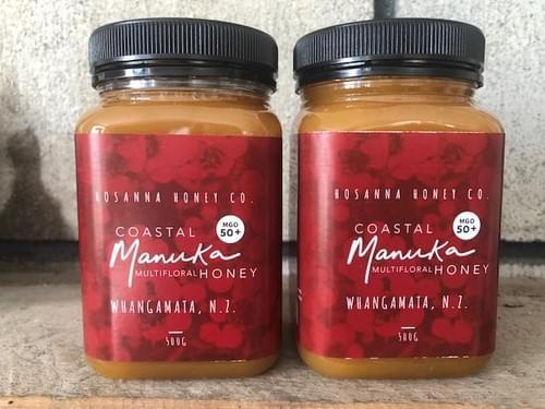 *NEW SEASON*   'Double Delight' x2 500gm Manuka MGO 50+ Multifloral Honey
