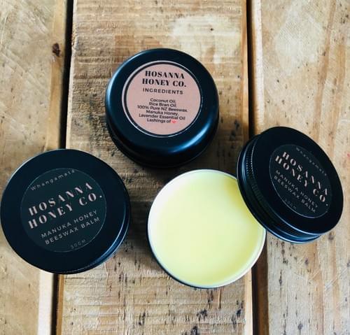 Manuka Honey Beeswax Balm 50gm Tin