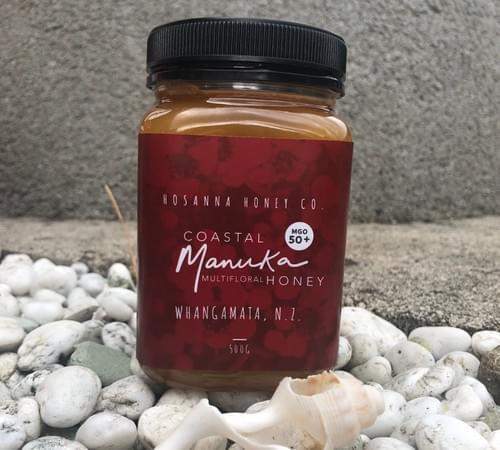 *NEW SEASON*     500gm Manuka Multifloral Honey MGO50+