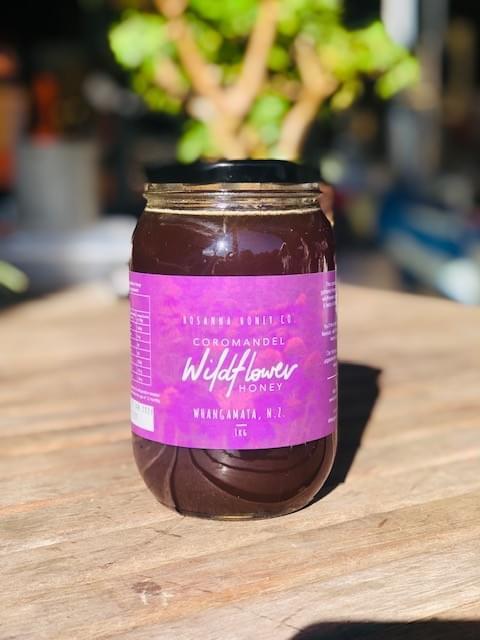 *NEW SEASON* Coromandel Wildflower Honey 1kg Glass Jar