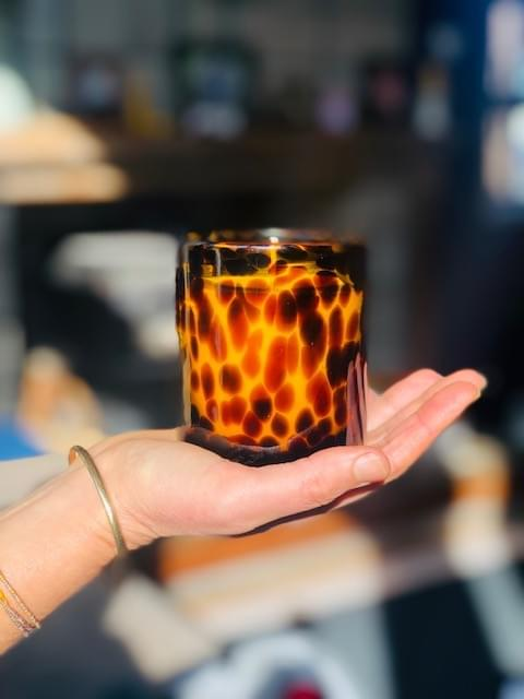 'Wild One' Cheetah Beeswax Blend Candle