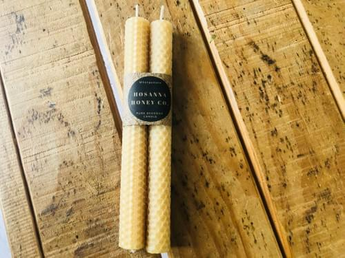Rolled Pillar Medium 2 pack, each candle is 20mm x 210mm