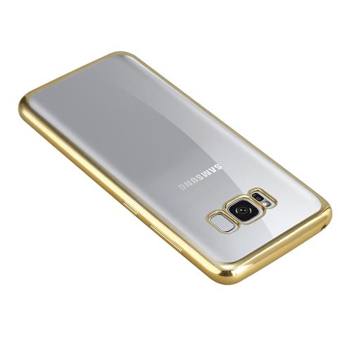 Coque bords colorés Samsung S8 plus