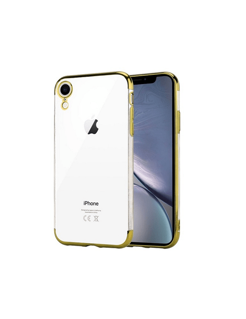 Coque bords colorés iPhone XR
