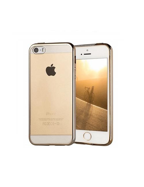 Coque bords colorés or iPhone 5/5s/5se