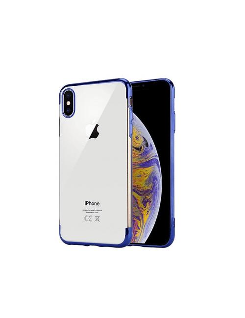 Coque bords colorés iPhone XS Max