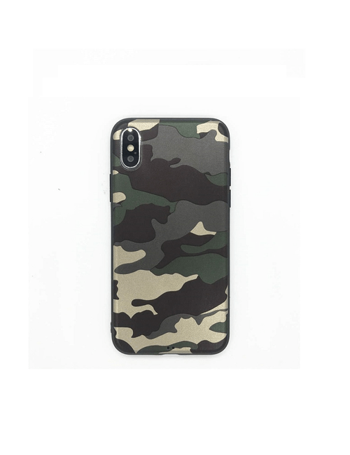 Coque camouflage militaire iPhone X/XS
