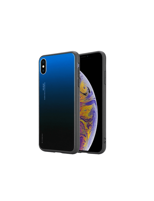 Coque gradient BE YOURSELF iPhone XS Max