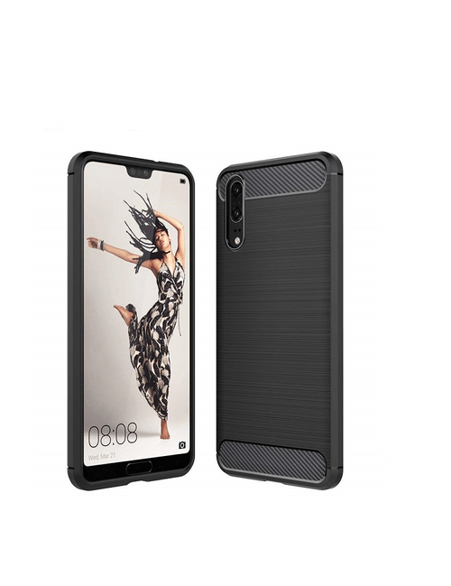 Coque carbone Huawei P20
