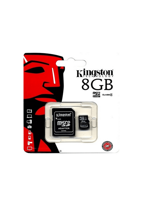 KINGSTON Carte MicroSDHC Classe 4 - 8Go