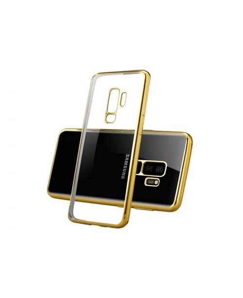 Coque bords colorés Samsung S9 plus