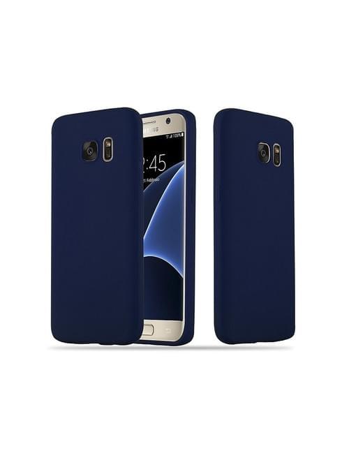 Coque candy bleu Samsung S7 edge