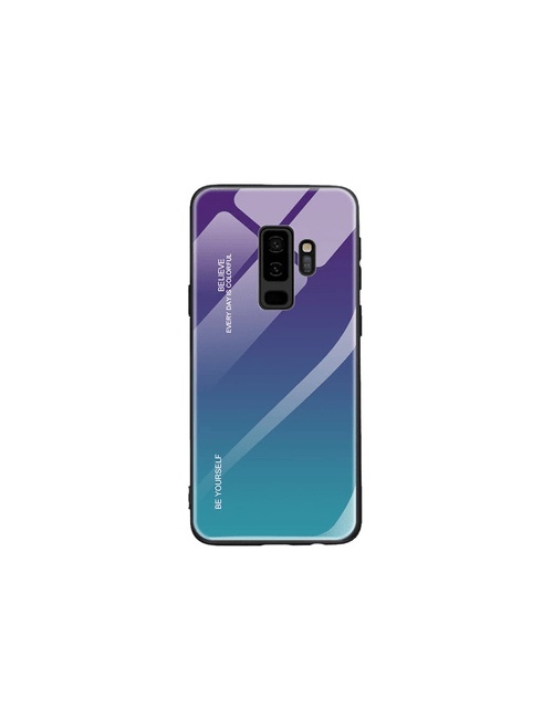 Coque gradient BE YOURSELF Samsung S9 plus
