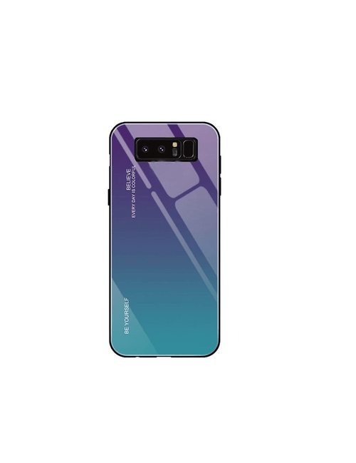 Coque gradient BE YOURSELF Samsung Note 8