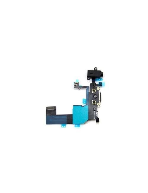 Nappe connecteur de charge iPhone 5c noir