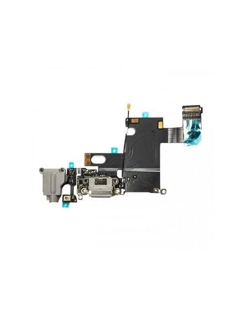 Nappe connecteur de charge iPhone 6 gris clair