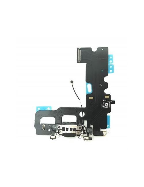 Nappe connecteur de charge noir iPhone 7