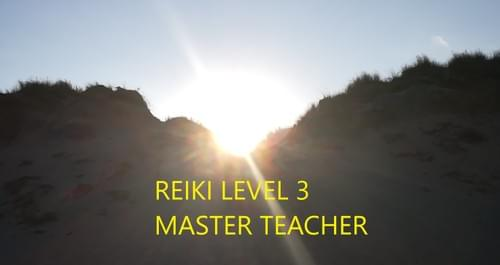 Reiki Level 3 Master Teacher - Deposit