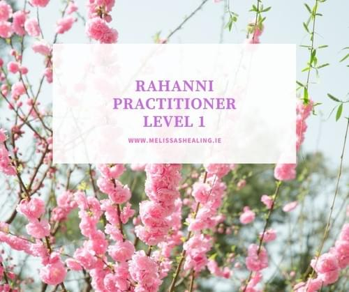 Rahanni Level 1 Practitioner Certification - Deposit