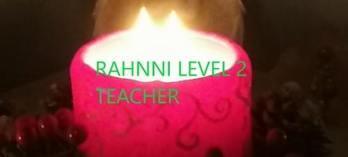 Rahanni Celestial level 2 Teacher - Deposit €50
