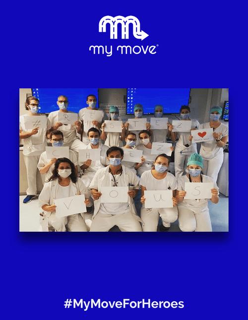 Donation de 20€ de courses VTC à offrir au personnel hospitalier