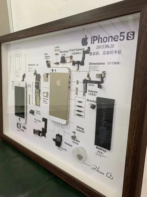 iPhone 5S Classical Specimen (Extra Shipping cost $60)