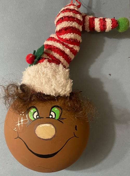 Multi-Ethnic Elf ornament