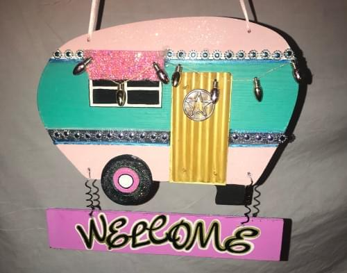 Pretty in Pink Camper