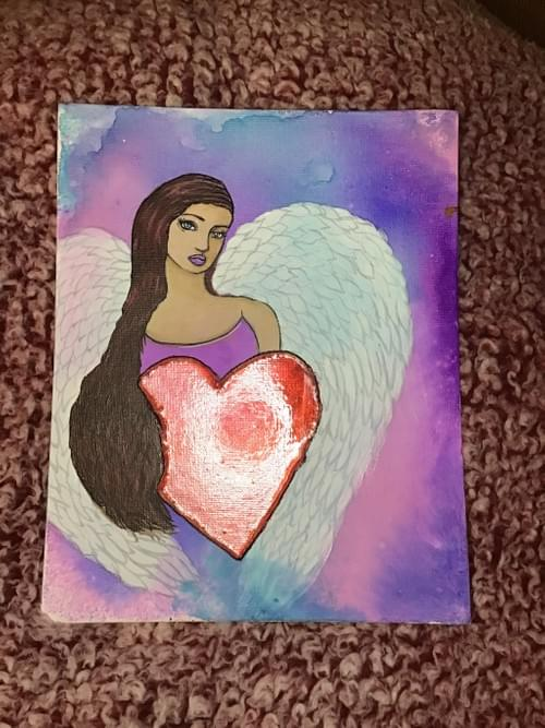 Valentines painting