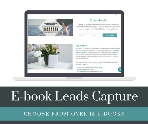 E-book Leads Capture